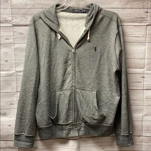 Ralph Lauren Polo Gray Hooded Sweatshirt